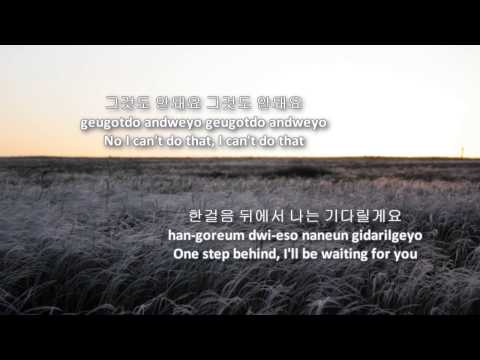 Can't Stop - CNBlue (eng|rom|han lyrics)