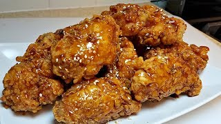 Crunchy Korean Fried Chicken Recipe | KFC Recipe | Dakgangjeong