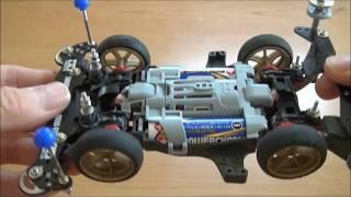 ミニ四駆 TAMIYA MINI-4WD MSフレキをMAシャーシに作ってみた