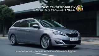 preview picture of video 'Peugeot 308 SW tv advert - How can an estate car make you feel'