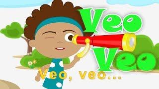 Veo Veo - Veo Veo  (Canción infantil en dibujos)