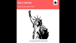Billy Bragg - Irving Plaza, New York. 1997 (Live)