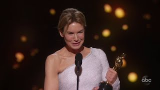 JUDY Accepts the Oscar for Lead Actress