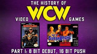 The History of WCW Games Part I - 8 Bit Debut, 16 Bit Push.