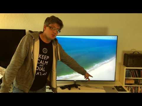 Samsung KS8090 4K SUHD Fernseher einrichten und erster Eindruck