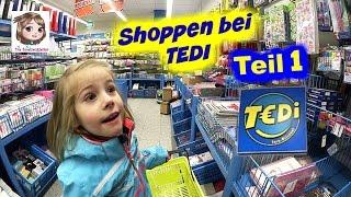 SHOPPING TOUR 👜 Kauft Eine 5 Jährige Im TEDI Nur Spielzeug? 👀 Haul Teil 1