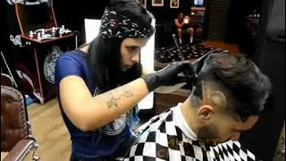 ✂️💈 BEST BARBER IN THE WORLD 2018 U.S.A / Videos Compilation Styles For Men's #02