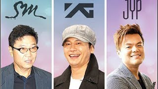 SM Entertainment VS YG Entertainment VS JYP Entertainment