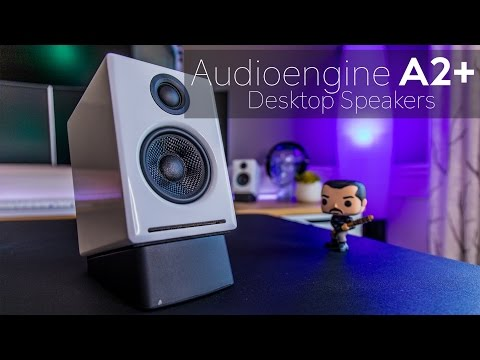 Audioengine A2+ Powered Desktop Speaker Review - Big Sound In A Small Package Mp3