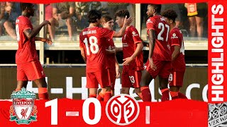 Highlights: Liverpool 1-0 FSV Mainz 05   Late goal wins it for the Reds