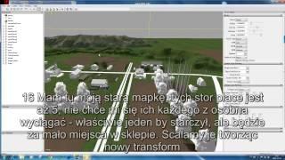 preview picture of video 'symulator farmy 2015 przygotowywanie pustej mapy cz I jak zmienic maszyny startowe'