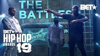 DNA Goes Up Against Geechi Gotti In This East Coast Vs. West Coast Rap Battle | Hip Hop Awards '19