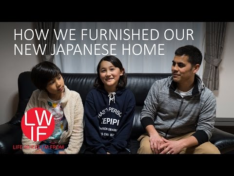 How We Furnished Our New Japanese Home
