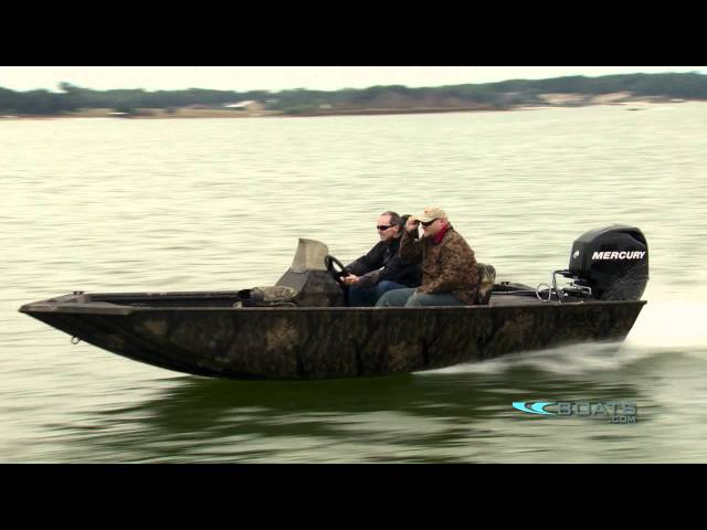 Lowe Sportsman 16 Aluminum Bass Boat Review / Performance Test