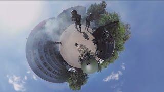 Counter-Strike в реальности: Учения СОБРа ФТС в Москве (ВИДЕО 360)