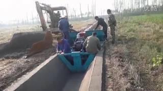 Water Canal | Channel Making Machine , Paving machine