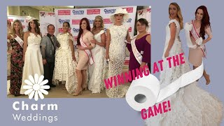 2017 Toilet Paper Wedding Dress Contest Presented By Cheap Chic Weddings And Quilted Northern