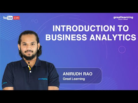 Introduction to Business Analytics   Great Learning - YouTube