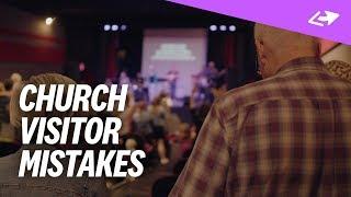 7 Ways Churches Make Visitors Feel Uncomfortable