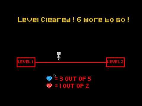 Java 2D platformer game Diamond Hunt (Levels 1 and 2)