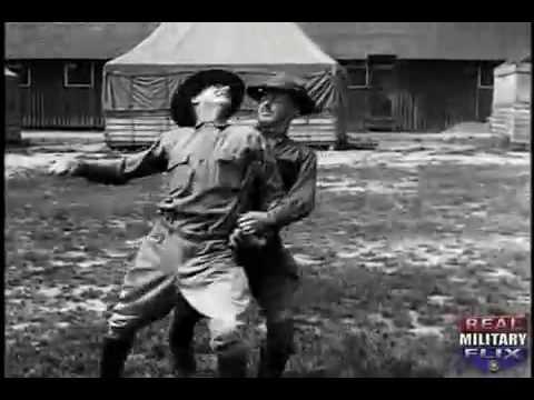 U.S. Army's Basic Hand To Hand Fighting of World War 1