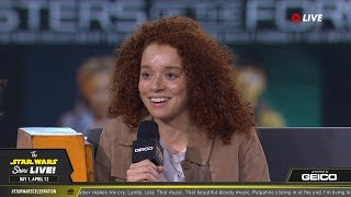 Erin Kellyman Takes The Stage At SWCC 2019 | The Star Wars Show Live!