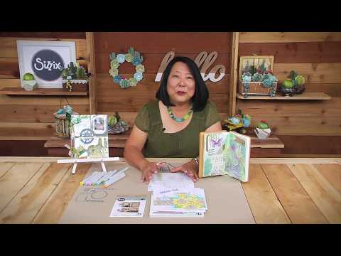 Succulent Art Journal with Lynda Kanase