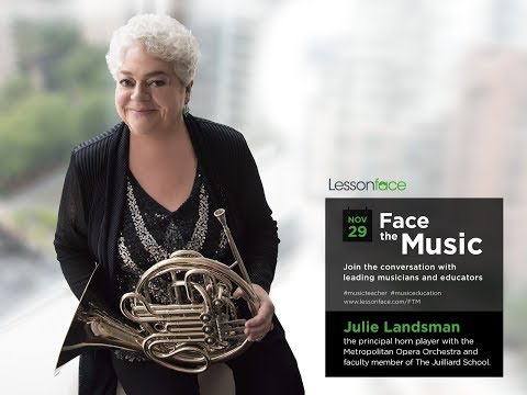 Face the Music with Julie Landsman