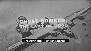 GHOST BOMBER: THE LADY BE GOOD - Armstrong Circle Theatre , War Mysteries 21190