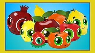 renkler sebzeler meyveler  eğitici çizgi film bebek şarkıları  edis ile feris