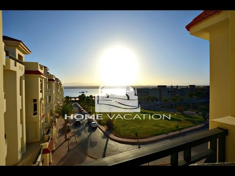 Newly furnished one-bedroom apartment with a panoramic Seaview for sale at Al Andalous Residence