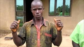 preview picture of video 'Uganda Villager Testimony Dec 2013'