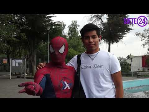 Spider-Moy héroe de ciencias en la UNAM