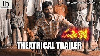 Dhanush's Pandem Kollu theatrical trailer