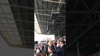 FULHAM VS MANCHESTER UNITED - AWAY END ON 🔥.