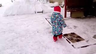 Снег и Первый день весны))))