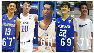 Gilas U18 2018: Taller, Bigger, Faster Frontline!!!