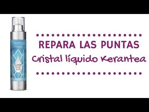 Repara puntas dañadas - Cristal líquido Kerantea [Con aceite de Argan]