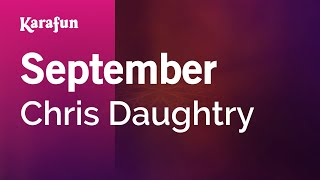 Karaoke September - Chris Daughtry *