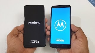 Realme 2 vs Moto G6 Speed Test & Camera Comparison !