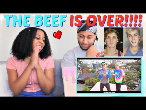 Jake Paul - I Love You Bro (Song) feat. Logan Paul (Official Music Video) REACTION!!!!