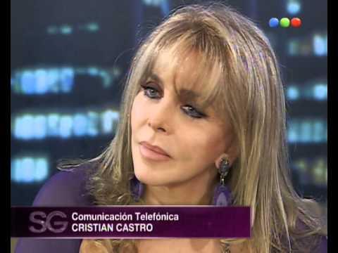 Cristian Castro le canta a su madre Verónica - Susana Giménez