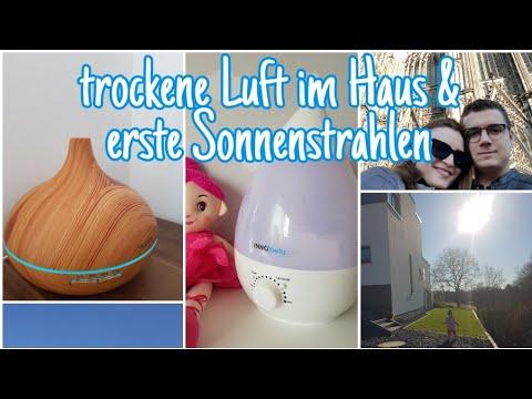 WeekendVLOG| Trockene Luft im Haus? - Luftbefeuchter |Kurztrip Köln| Die Siwuchins