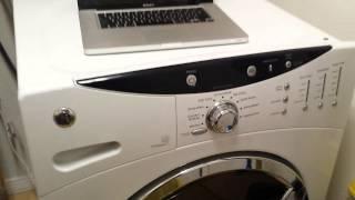 GE front loader washer broken SOLVED. Door lock broken