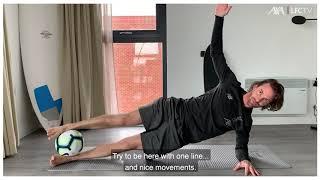 Zuhause fit bleiben mit dem Liverpool FC – Teil 1