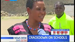 Agony as pupils kicked out of Jubilee primary school in Nakuru county by the police