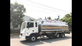 Mẫu xe bồn chở xăng dầu mới nhất