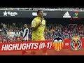 Resumen De Valencia CF Vs Villarreal CF (0-1)