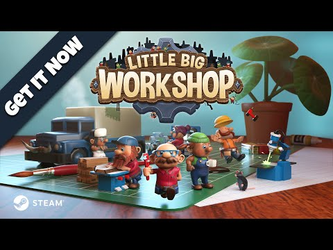Trailer de Little Big Workshop