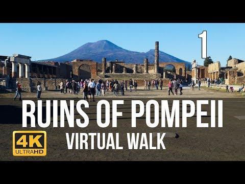 Virtuele Pompeii-wandeltocht